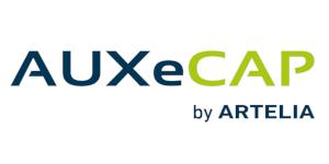 logo auxecap by artelia